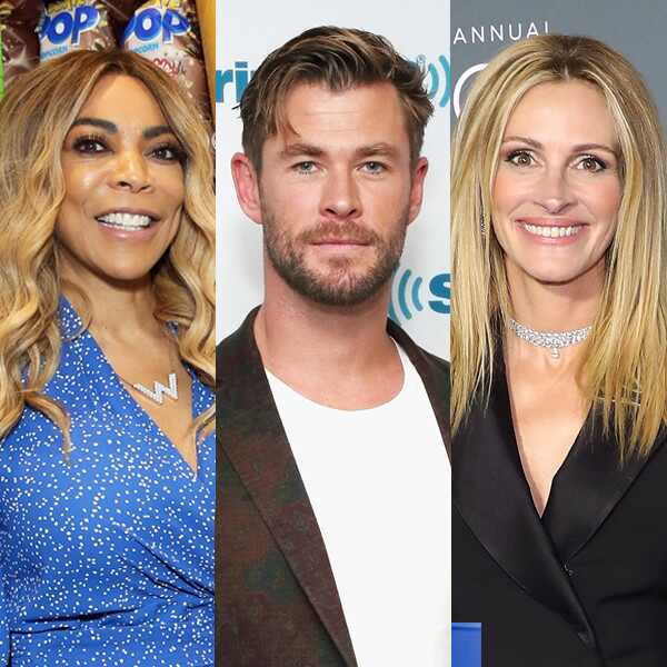 Wendy Williams, Chris Hemsworth, Julia Roberts