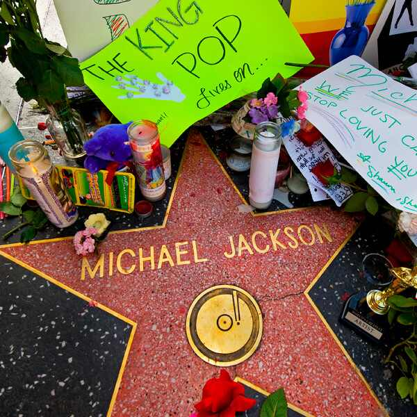 Michael Jackson, Death, Hollywood Walk of Fame