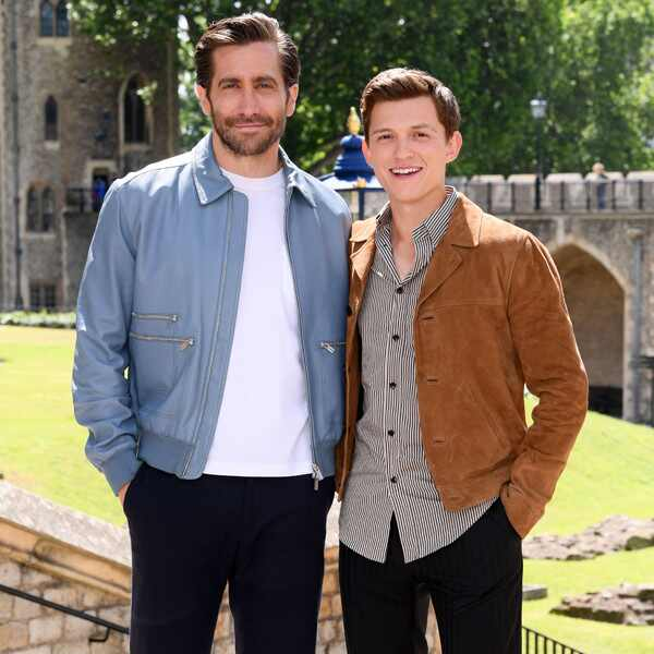 Jake Gyllenhaal, Tom Holland, Spider-Man: Far From Home Film Photo Call