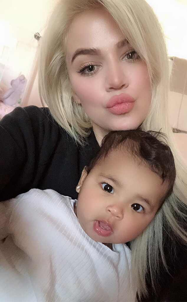 Khloe Kardashian, True Thompson, Tristan Thompson, Instagram