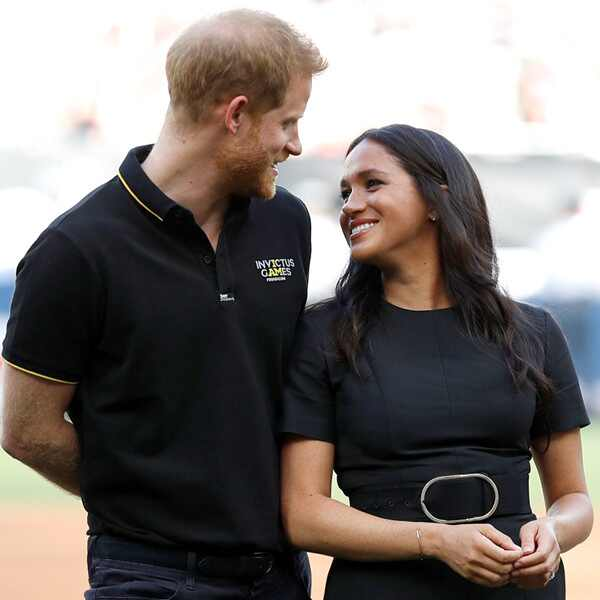 Meghan Markle, Prince Harry, Boston Red Sox vs New York Yankees Baseball Game