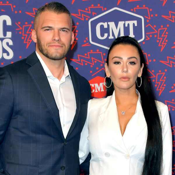 Jenni Farley, JWoww, Zack Clayton Carpinello, 2019 CMT Music Awards