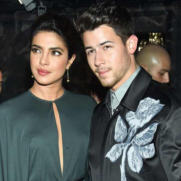Christian Dior show - Priyanka Chopra and Nick Jonas