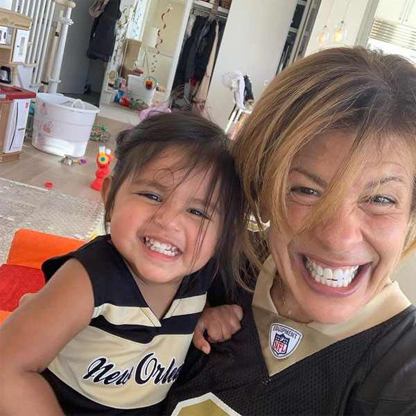 Hoda Kotb, Haley Joy, Superbowl