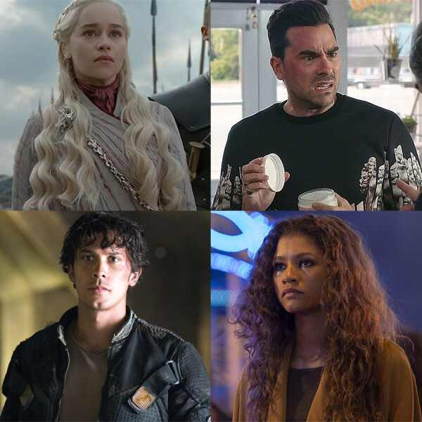 Emilia Clarke, Game of Thrones, Dan Levy, Schitt's Creek, Bob Morley, The 100, Zendaya, Euphoria