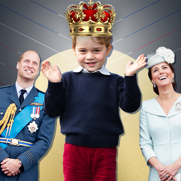 Prince William, Kate Middleton, Prince George, Preparing to Be King One Day