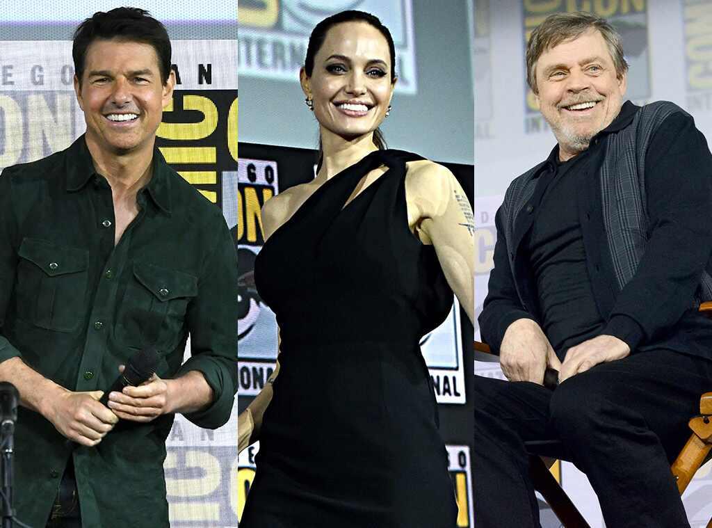Tom Cruise, Angelina Jolie, Mark Hamill, 2019 Comic-Con