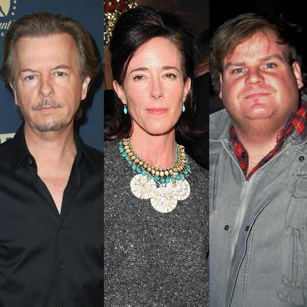 David Spade, Kate Spade, Chris Farley