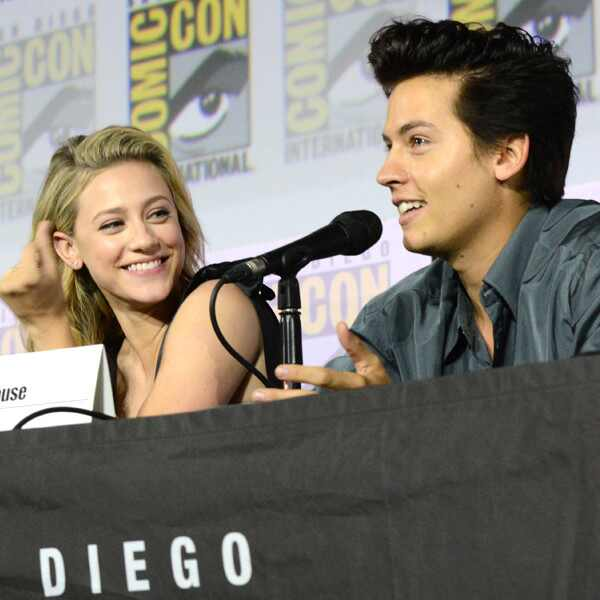 Lili Reinhart, Cole Sprouse, 2019 Comic-Con