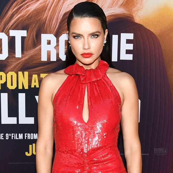 Adriana Lima, Once Upon a Time in Hollywood Premiere, Red Carpet Fashion