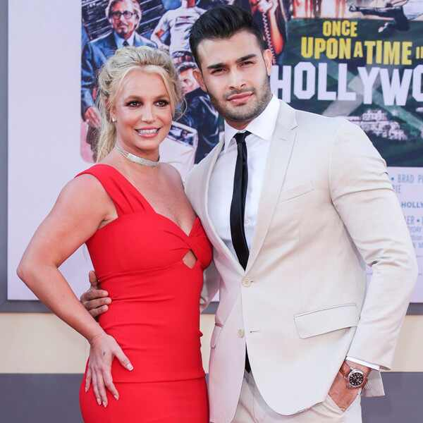 Britney Spears, Sam Asghari, Once Upon a Time in Hollywood Premiere