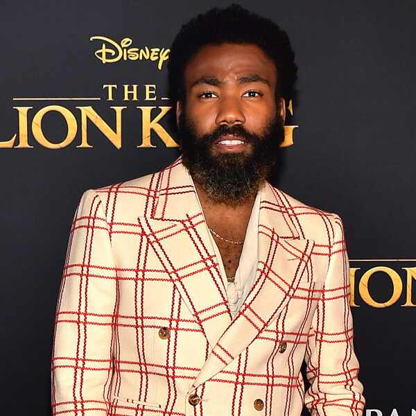 Donald Glover, The Lion King Premiere, Red Carpet Fashion