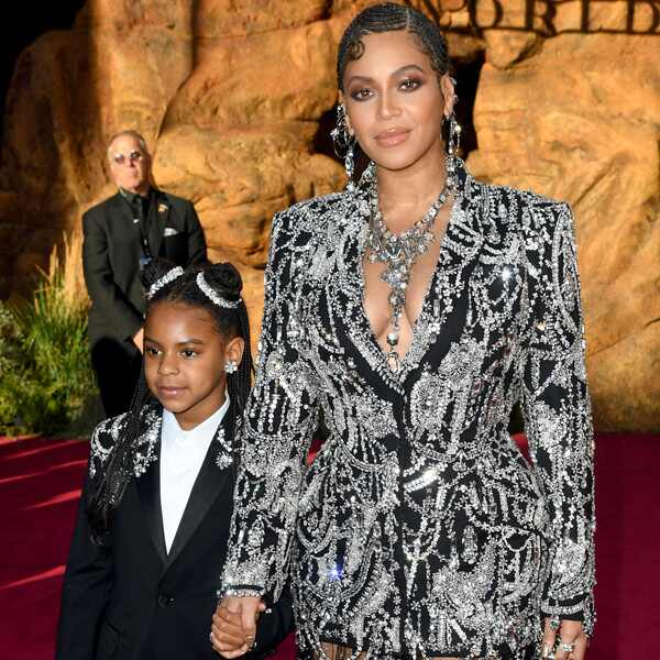 Blue Ivy Carter, Beyoncé, Lion King Premiere