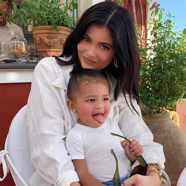 Kylie Jenner, Stormi Webster, Italy, 22nd, Birthday, Instagram