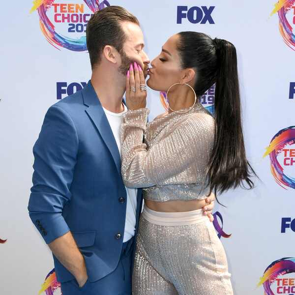 Artem Chigvintsev, Nikki Bella, 2019 Teen Choice Awards