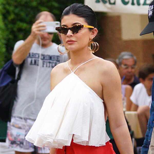 Kylie Jenner, Portofino, Italy