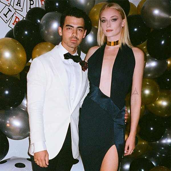 Joe Jonas, Sophie Turner, 30th, Birthday, Party, James Bond, Instagram