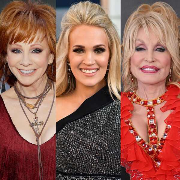 Reba, Carrie Underwood, Dolly Parton