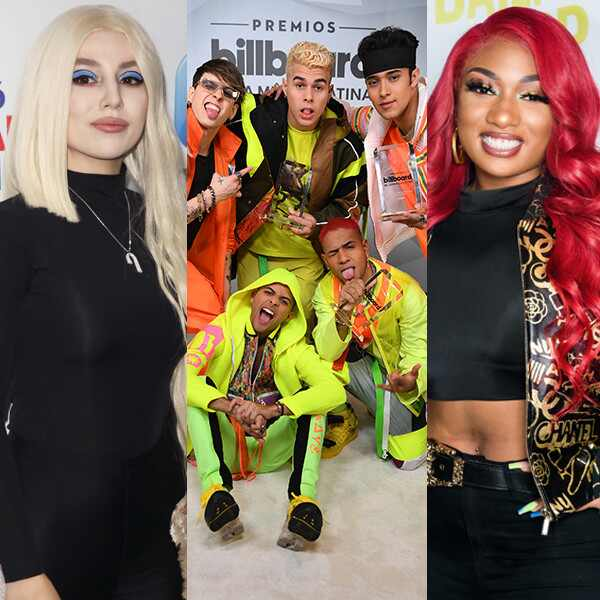 Ava Max, CNCO and Megan Thee Stallion
