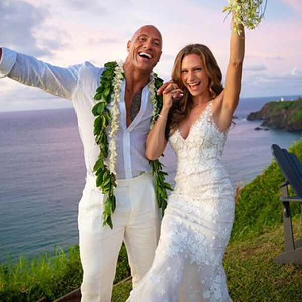 Dwayne Johnson, Lauren Hashian, Wedding