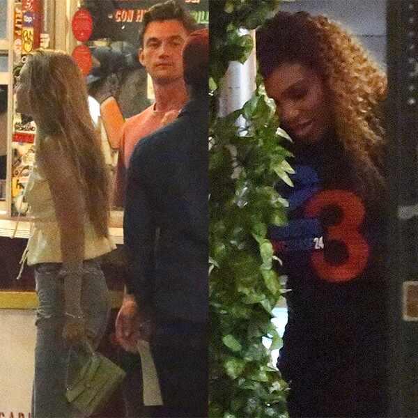 Gigi Hadid, Tyler Cameron, Serena Williams
