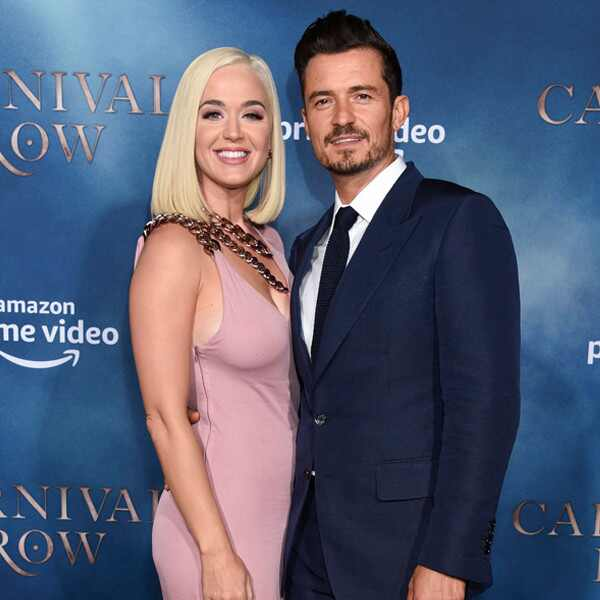 Katy Perry, Orlando Bloom, Carnival Row Premiere