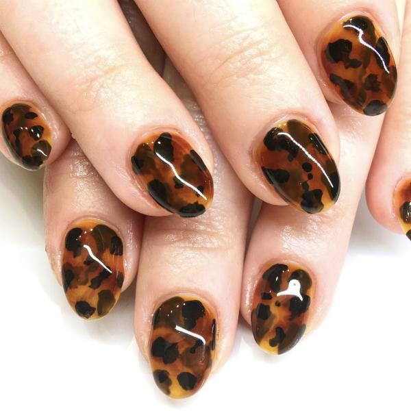 Nail art tartaruga