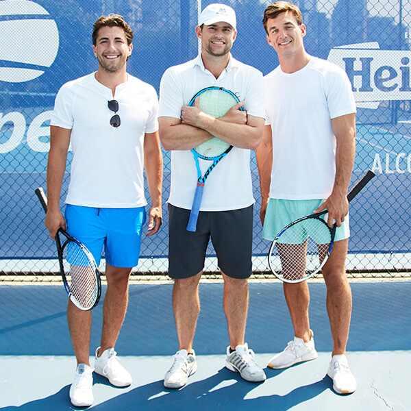 Andy Roddick, Tyler Cameron, Jason Tartick