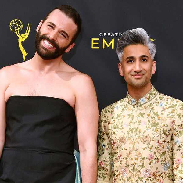 Jonathan Van Ness, Tan France, Queer Eye, 2019 Creative Arts Emmy Awards