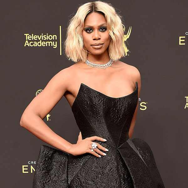 Laverne Cox, 71st Annual Primetime Creative Arts Emmy Awards, Fashion Police widget
