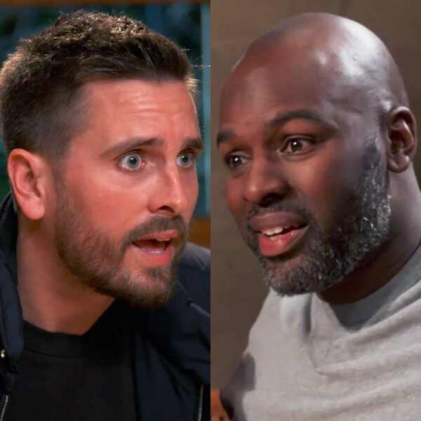 Scott Disick and Corey Gamble, KUWTK 1703