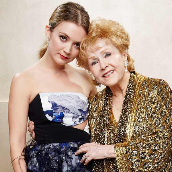 Billie Lourd, Debbie Reynolds, 2015 SAG Awards