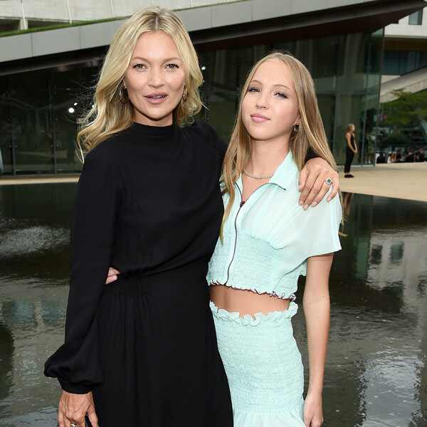 Kate Moss, Lila Moss, Celebrity Kids at Fashion Week