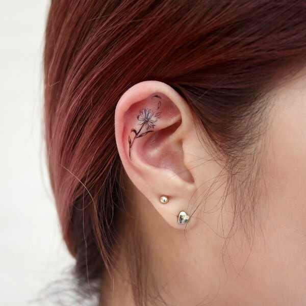 Tatuagem de orelha