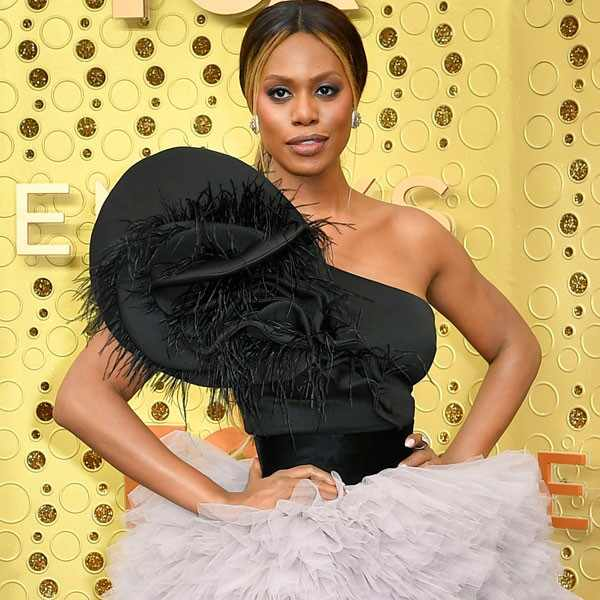 Laverne Cox, 2019 Emmy Awards, 2019 Emmys, Red Carpet Fashion