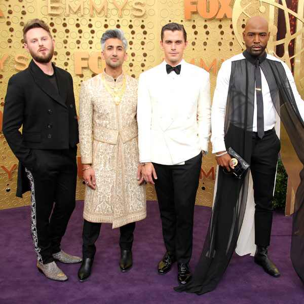 Bobby Berk, Tan France, Antoni Porowski, Karamo Brown, 2019 Emmy Awards, 2019 Emmys