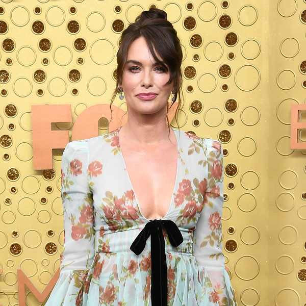 Lena Headey, 2019 Emmy Awards, 2019 Emmys, Red Carpet Fashion