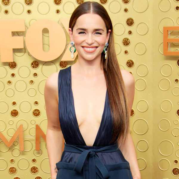 Emilia Clarke, 2019 Emmy Awards, 2019 Emmys, Red Carpet Fashion