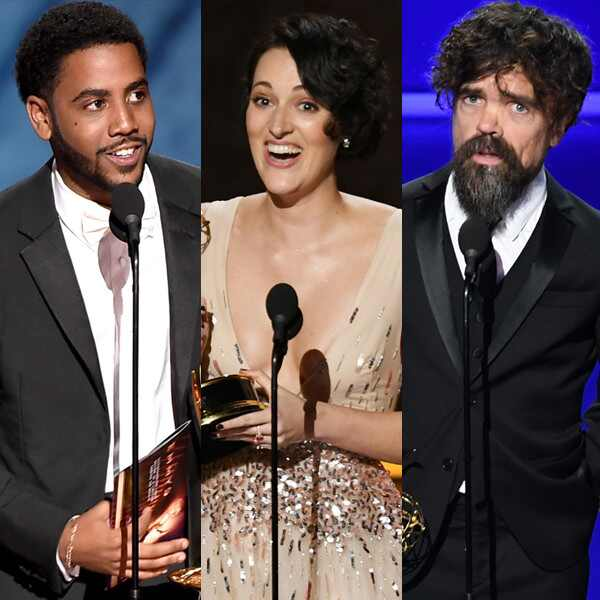 Jharrel Jerome, Phoebe Waller-Bridge, Peter Dinklage, 2019 Emmy Awards, Emmys, Winners