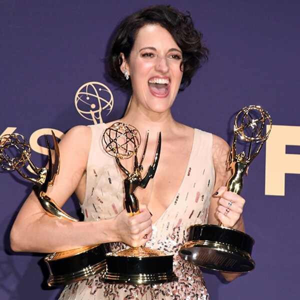 Phoebe Waller-Bridge, 2019 Emmy Awards, Emmys, Candids