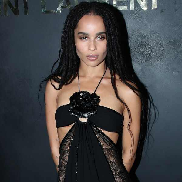 Zoe Kravitz, Fashion Police Widget