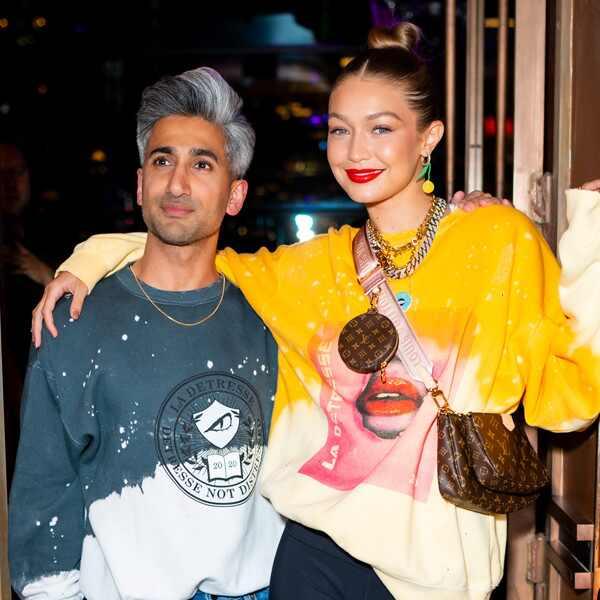 Tan France, Gigi Hadid, New York Fashion Week