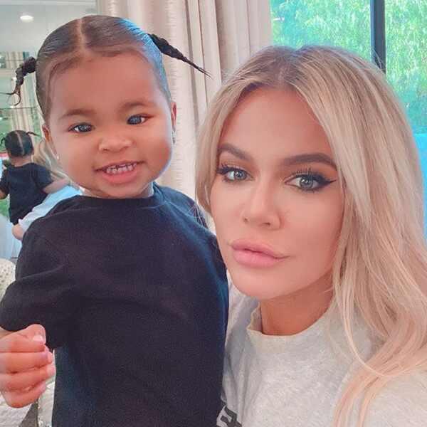 Khloe Kardashian, True Thompson, Instagram