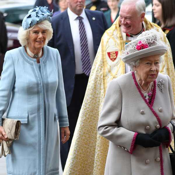 Queen Elizabeth, Camilla, Duchess of Cornwall