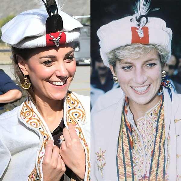 Kate Middleton, Princess Diana, Hat