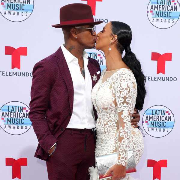 Ne-Yo, Crystal Renay, Latin American Music Awards 2019, Arrivals