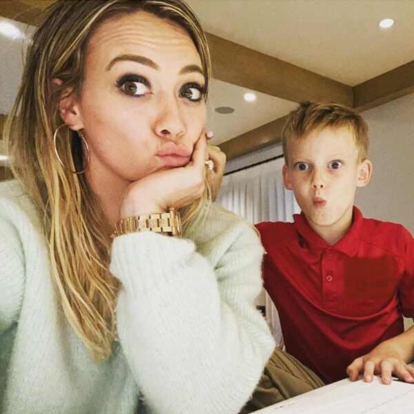 Hilary Duff, Luca Comrie, Instagram