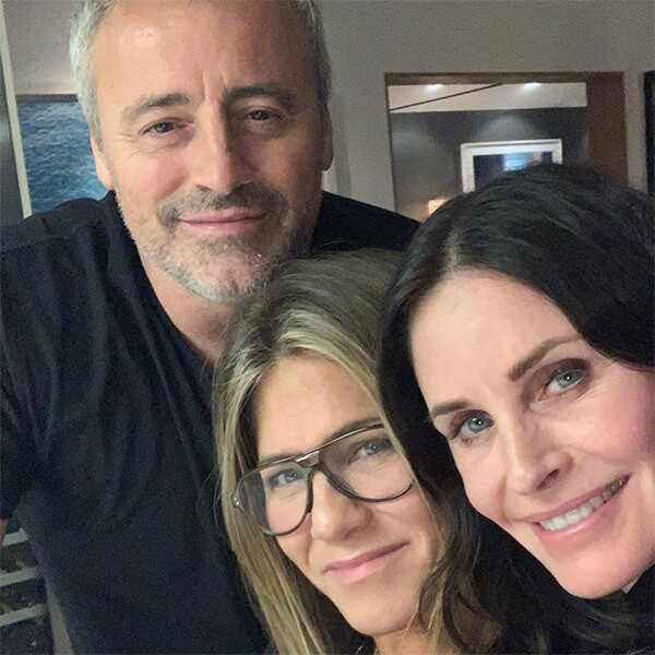 Matt LeBlanc, Courteney Cox, Jennifer Aniston, Friends, Reunion, Instagram