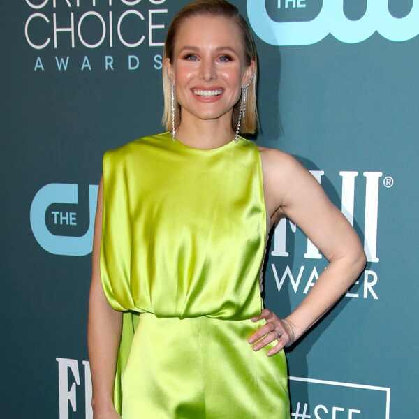 Kristen Bell, 2020 Critics Choice Awards, Red Carpet Fashion