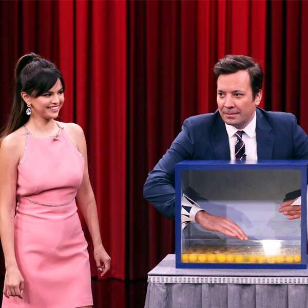 Selena Gomez, Jimmy Fallon, The Tonight Show